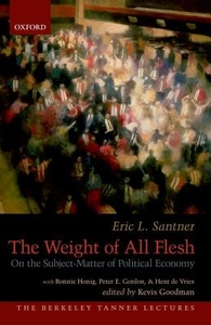Weight of All Flesh : On the Subject-Matter of Political Economy