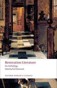 Restoration Literature:An Anthology