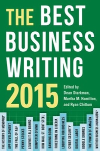 The Best Business Writing 2015