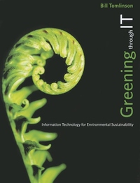 Greening Through IT:Information Technology for Environmental Sustainability