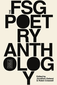 The FSG Poetry Anthology