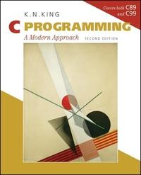 C Programming:A Modern Approach