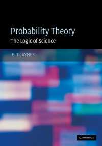 Probability Theory:The Logic of Science