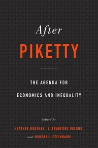 After Piketty: The Agenda for Economics and Inequality