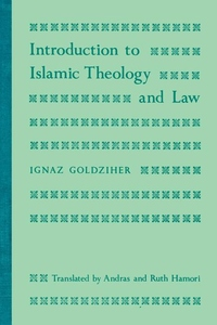 Introduction to Islamic Theology and Law