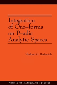 Integration of One-Forms on P-Adic Analytic Spaces
