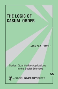 The Logic of Causal Order