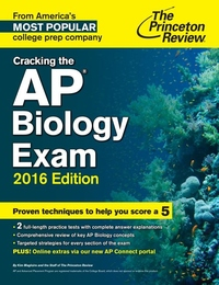 Cracking the AP Biology Exam, 2016 Edition | Seminary Co-op Bookstores