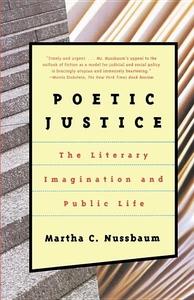 POETIC JUSTICE: THE LITERARY IMAGINATION & PUBLIC