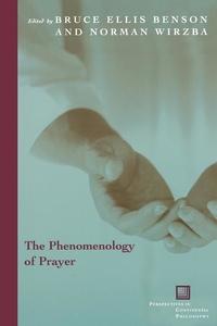 The Phenomenology of Prayer