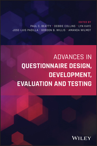 Advances in Questionnaire Design, Development, Evaluation and Testing