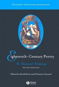 Eighteenth-Century Poetry:An Annotated Anthology