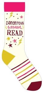 Dangerous Women Read Socks