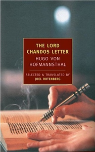 The Lord Chandos Letter:And Other Writings