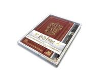 Harry Potter: Gryffindor Hardcover Journal and Elder Wand Pen Set