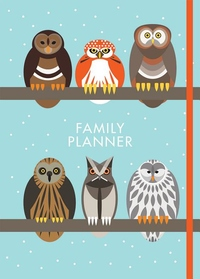 I Like Birds Parliament of Owls Family Planner