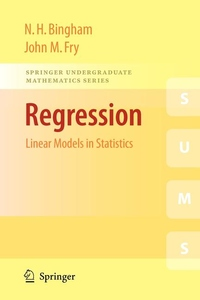 Regression:Linear Models in Statistics