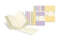 Moleskine Messages Note Card, Pocket, Plain, Almond White, Soft Cover (3.5 x 5.5)