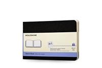 Moleskine Art Plus Sketch Album, Pocket, Black, Soft Cover (3.5 x 5.5)