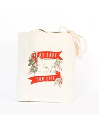 Cat Lady For Life Tote
