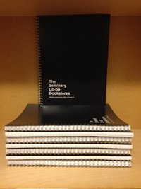 Seminary Co-op Notebook Spiral Black Lined 8.5 x 11