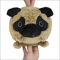 Mini pug plush