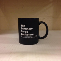 Seminary Co-op Mug Black