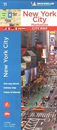 Michelin New York City Manhattan Map 11 Seminary Co Op Bookstores