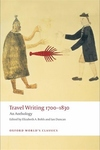 Travel Writing 1700-1830:An Anthology