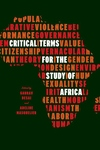 Critical Terms for the Study of Africa