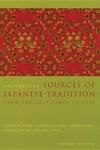 Sources of Japanese Tradition: 1600 to 2000 (Expanded)