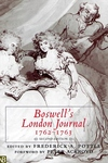 Boswell's London Journal, 1762-1763