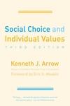 Social Choice and Individual Values:Third Edition
