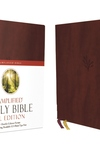 Amplified Holy Bible, XL Edition, Leathersoft, Burgundy