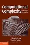 Computational Complexity:A Modern Approach
