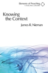 Knowing the Context:Frames, Tools, and Signs for Preaching