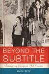 Beyond the Subtitle:Remapping European Art Cinema