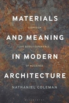 Materials and Meaning in Architecture: Essays on the Bodily Experience of Buildings
