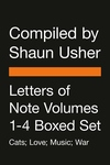 Letters of Note Volumes 1-4 Boxed Set