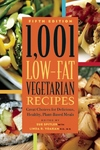 1,001 Low-Fat Vegetarian Recipes:Great Choices for Delicious, Healthy Plant-Based Meals
