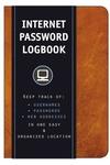 Internet Password Logbook (Cognac Leatherette): Keep Track Of: Usernames, Passwords, Web Addresses i