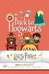 Harry Potter: Back to Hogwarts Hardcover Ruled Journal
