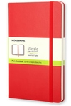 Moleskine Classic Red Pocket Plain Notebook