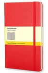 Moleskine Square Pocket, Hard Red