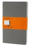Moleskine Ruled Cahier Journal Light Warm Grey Large