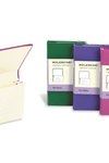 Moleskine Classic Portfolio, Extra Small, Magenta, Hard Cover (2.5 x 4)
