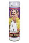 Freddie Mercury Secular Saint Candle