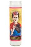 Frida Kahlo Secular Saint Candle