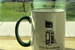 57th Street Mug White and Green