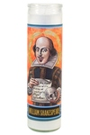 Shakespeare Secular Saint Candle